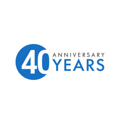 40 years logo vector