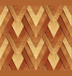 Bronze metallic seamless pattern vector