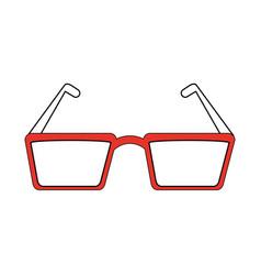 Glasses eyewear icon image vector