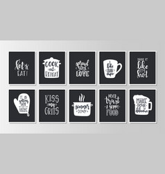 Hand drawn typography poster conceptual vector