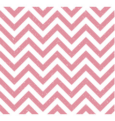 pink grunge chevron retro pattern background vector image