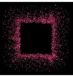 Pink Square Frame vector image