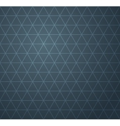 Abstract dark blue geometric seamless pattern vector image