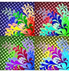 Design floral element vector image vector image