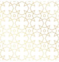 Abstract golden geometric pattern background vector