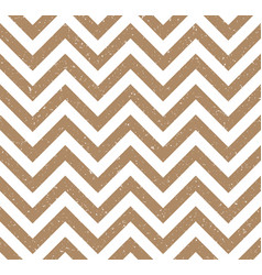 beige grunge chevron retro decorative pattern vector image
