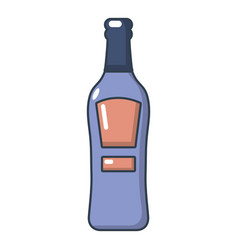 Bourbon icon cartoon style vector