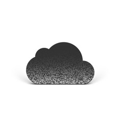 cloud pictogram vector image