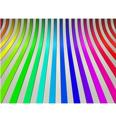 Colorful curve line abstract background vector image
