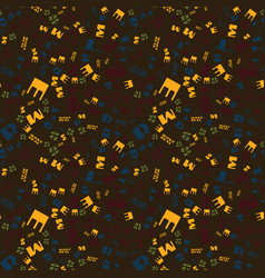 Montreal creative pattern vector