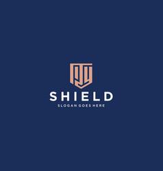 py shield logo vector image