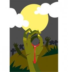 Halloween monster vector image vector image