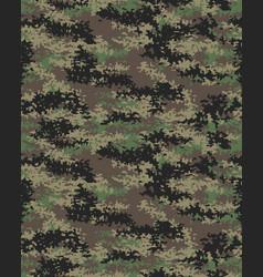 digital fashionable camouflage vector image