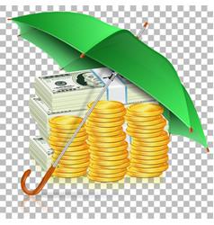 Monetary stability concept vector