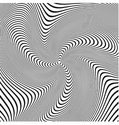 Abstract wavy lines design vector