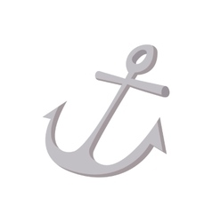 Anchor icon cartoon style vector image