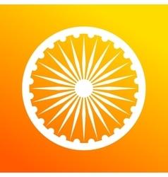 Dharmacakra dharma wheel vector