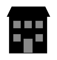 House construction real estate icon vector image