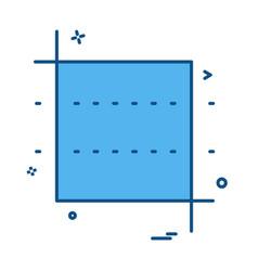 square icon design vector image