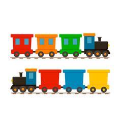 toy train for kid cartoon child locomotive vector image