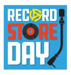 record store day design vector image