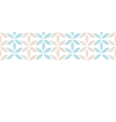 Abstract textile leaves stripes horizontal vector image