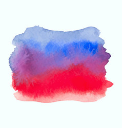 Blue and red color watercolor gradient banner vector