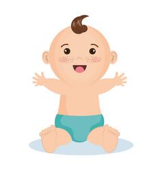 cute baby design vector image