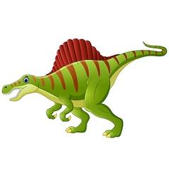 Dinosaur spinosaurus cartoon vector