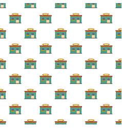 fruit shop pattern seamless vector image