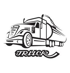 Fuel truck vector