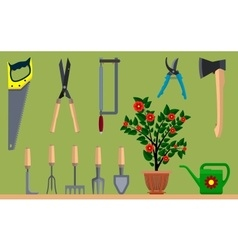 Instrument for gardening vector image