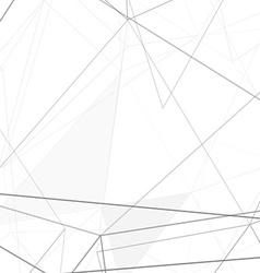 Modern hi-tech net structure grey background vector image