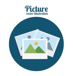 picture icon vector image
