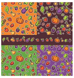 Vegan pattern vector