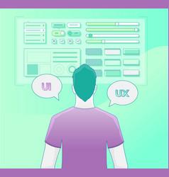 design thinking process vector image