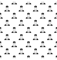 Veterinarian pattern simple style vector image vector image