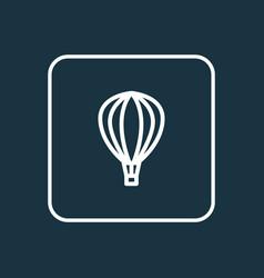 aerostat outline symbol premium quality isolated vector image
