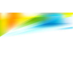 bright abstract colorful gradients background vector image