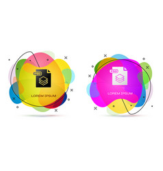 Color psd file document download psd button icon vector