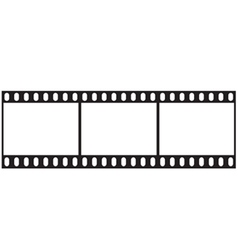 Filmstrip icon vector image