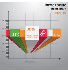 Infographic and chart vector