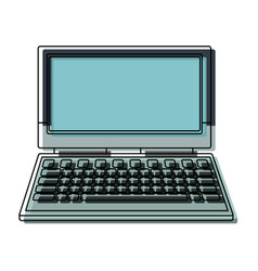 Laptop computer device technology wireless vector