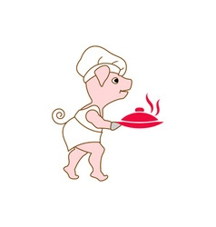 Pig-Chef-380x400 vector image