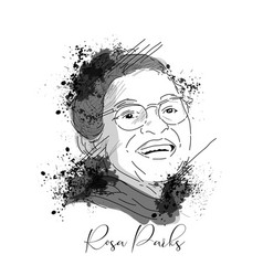 Rosa parks vector