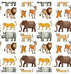 Various animals vector