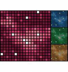 purple tiles background vector image vector image