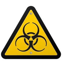 Toxic Hazard vector image vector image