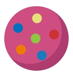 Toy ball vector image