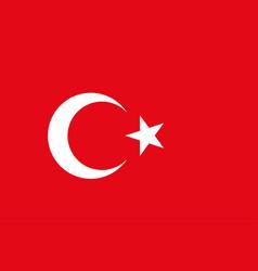 turkish flag background republic of turkey vector image